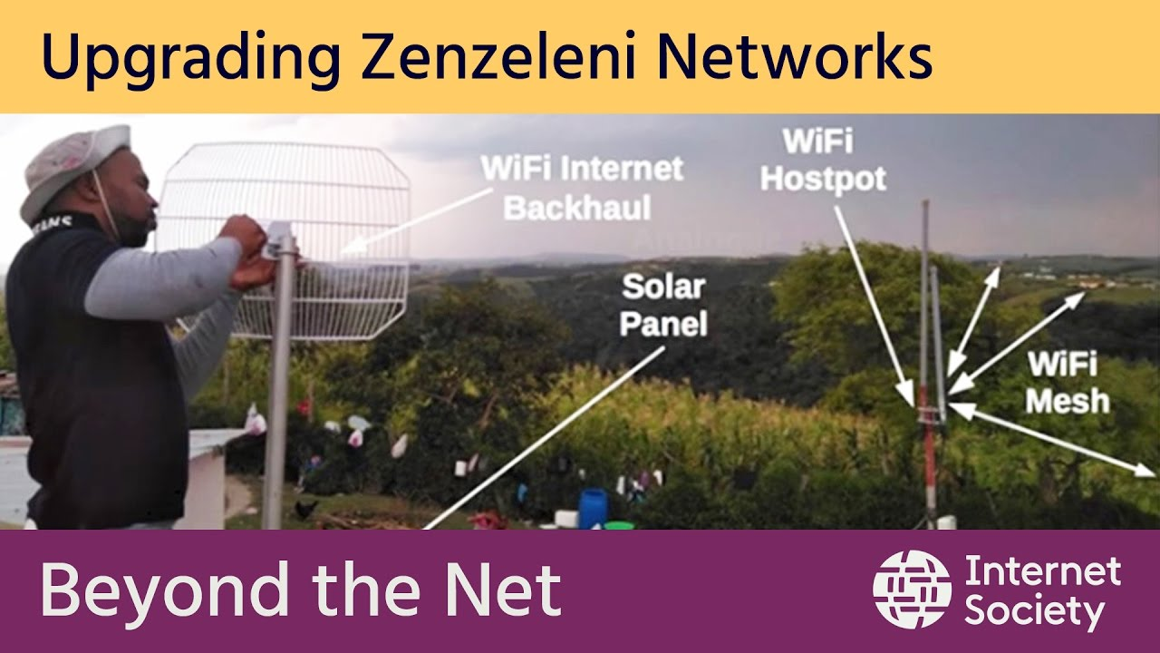 Zenzeleni do it yourself networks in mankosi south africa youtube zenzeleni do it yourself networks in mankosi south africa solutioingenieria Image collections