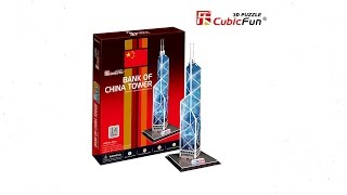 Bank of China Tower - Puzzle 3D