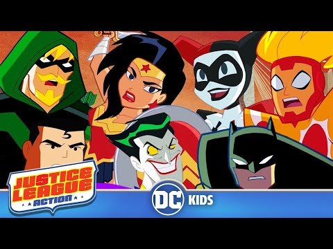 Justice League Action | Shorts Mashup!