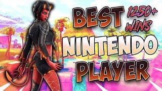 Fortnite Best Nintendo Switch Player 1240+ Wins!! solos #positivevibes
