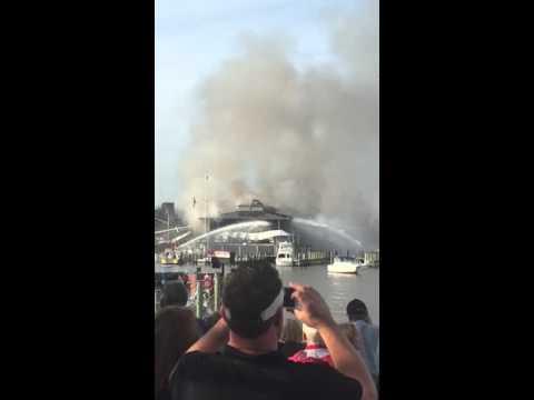 Annapolis Yacht Club Fire 2015
