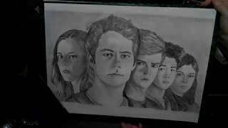 Speed Drawing - The Maze Runner 3/The Death Cure
