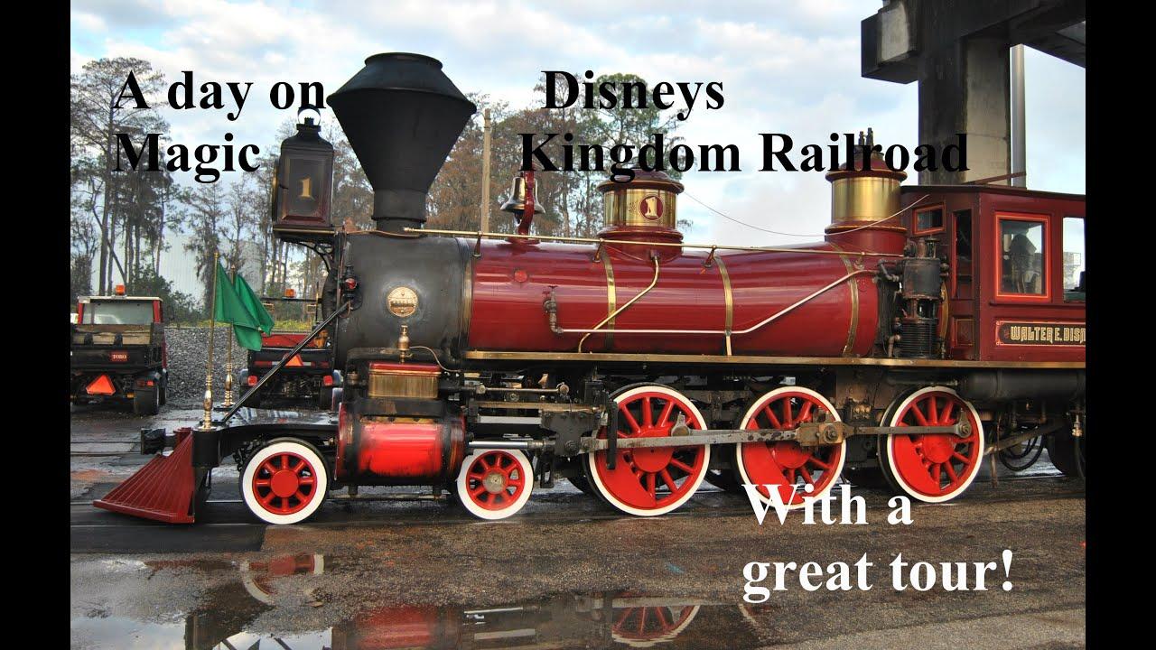 Walt Disney World Railroad Roger Broggie