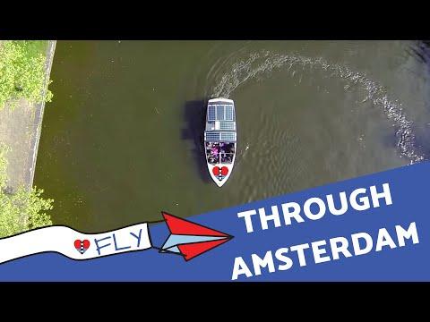 Fly through Amsterdam