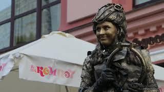 Живая Статуя, Москва, Арбат