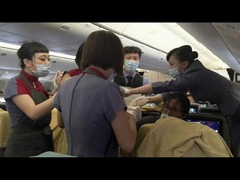 Woman gives birth on plane