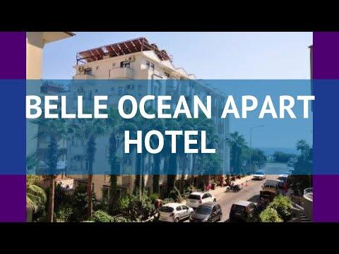 BELLE OCEAN APART HOTEL 3* Турция Алания обзор – отель БЕЛЛЕ ОУШЕН АПАРТ ХОТЕЛ 3* Алания видео обзор