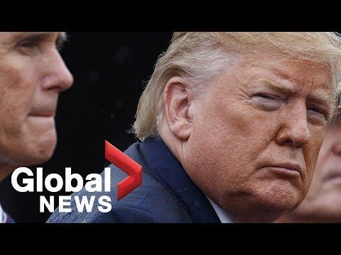 Trump Says He 'deserves' To Meet Whistleblower