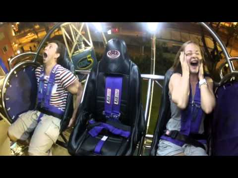 Super funny G-max Reverse Bunngy, Singapore at Clarke  Quay