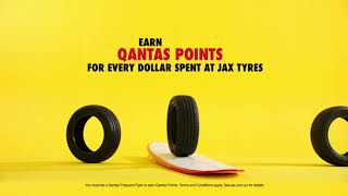 Need a change? Just ask JAX about Qantas Frequent Flyer Points