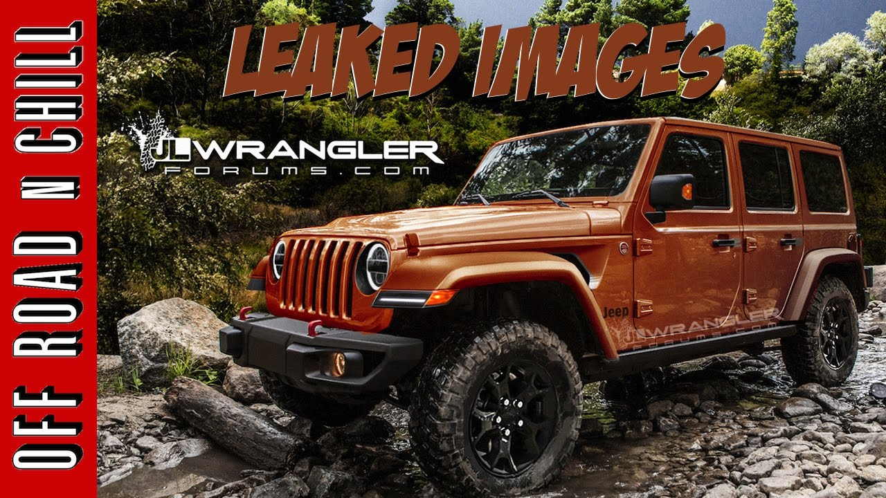 2018 jeep jl interior.  2018 2018 jeep wrangler jl leaked images u0026 everything you should know about   on jeep jl interior l