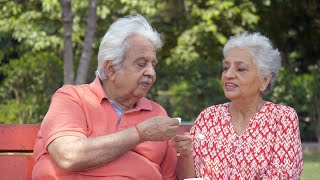Romantic old couple spending quality time with each other - lifestyle couples
