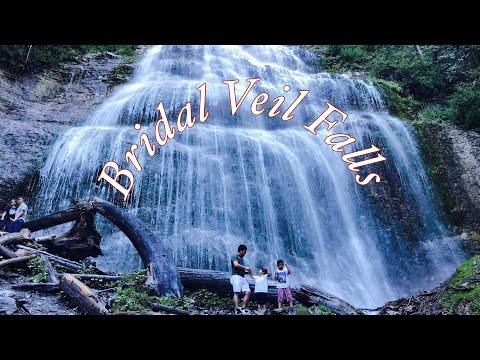 BRIDAL VEIL FALLS PROVINCIAL PARK BRITISH COLUMBIA CANADA