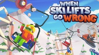 BOB IS AN INSANE SERIAL KILLER PLEASE SEND HELP - When Ski Lifts Go Wrong