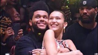 The Weeknd & Bella Hadid in Abu Dhabi