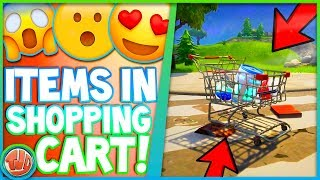 PUT ITEMS IN THE SHOPPING CART!!! LAMA SKIN IS COMING?!? -Fortnite: Battle Royale