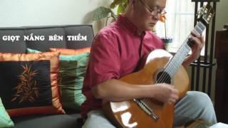 GIỌT NẮNG BÊN THỀM  -- Guitar Cover