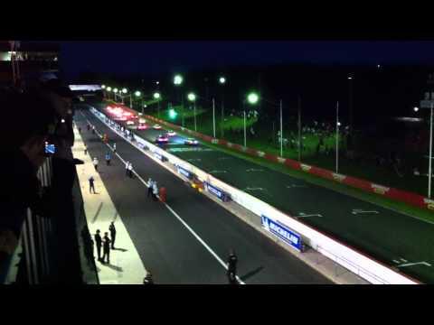 Start of Bathurst 12 hour 2012
