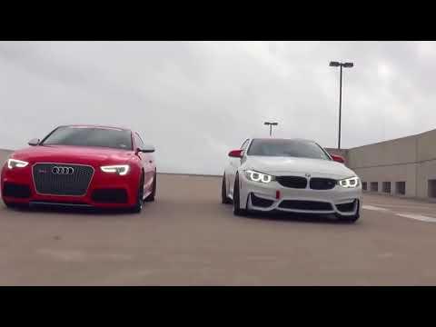 Audi vs. Bmw Battle (♫ Ahzee – Go Gyal Remix 2017♫ )