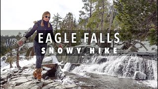 Eagle Falls Lake Tahoe | Hiking in the Snow