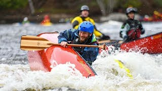 Whitewater Canoeing On The Madawaska River