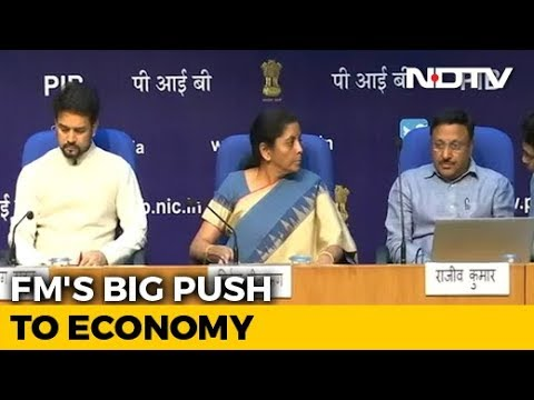 Finance Minister Nirmala Sitharaman Announces Measures To Revive Economy