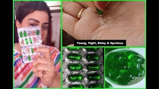Use Vitamin E Oil this way your face will become so young, tight, shiny & spotless.