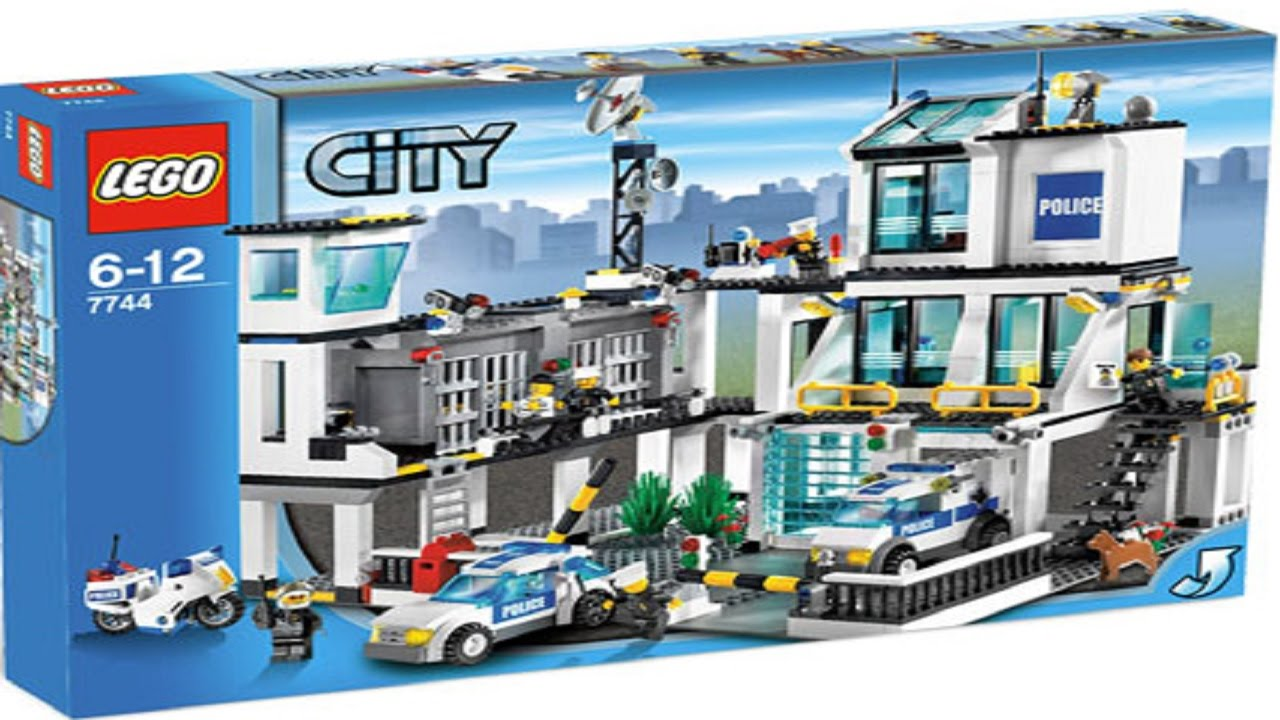 Lego 7744 Police Headquarters City Police (instruction