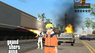 GTA SA - MODS - Shinobi World (NARUTO) (#1)