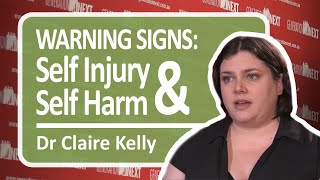Warning Signs of Self-injury and Self-harm