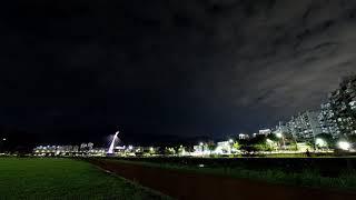오즈모 액션 야간 타임랩스