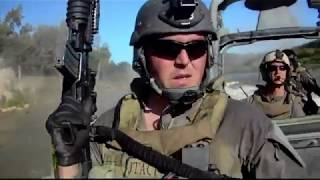 US NAVY  Riverine Squadron Live Fire Drill