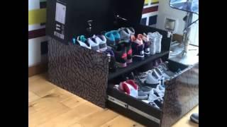 Sneaker Storage Box Gigante Inspirado Em Caixa De Air Jordan