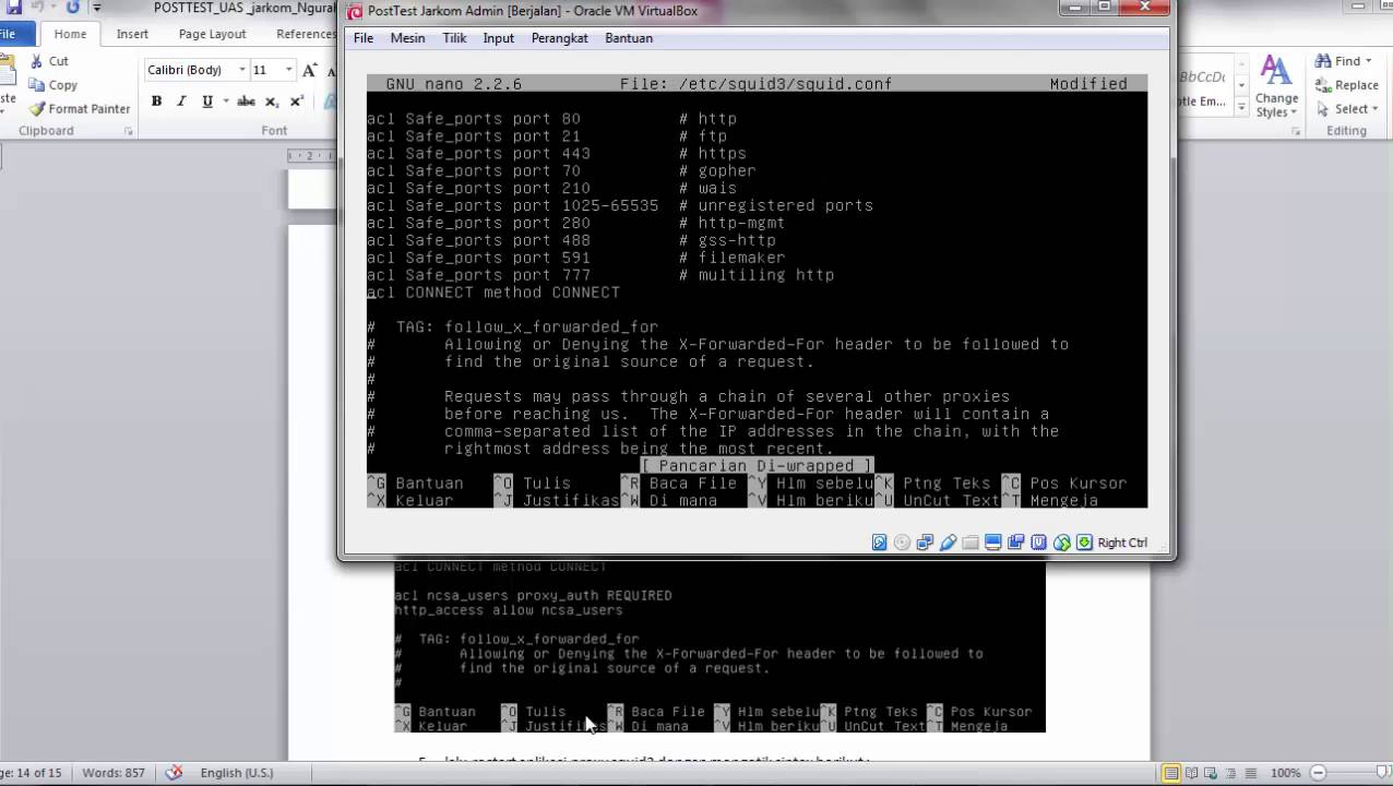 Configure vpn debian 8