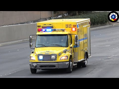 [Las Vegas] Rescue 32 responding with Horn, Lights and Siren.