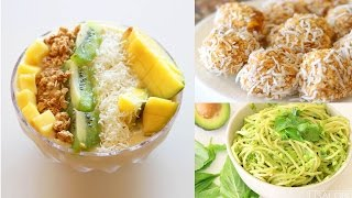 What I Eat In A Day #4 • Healthy Vegan Recipes