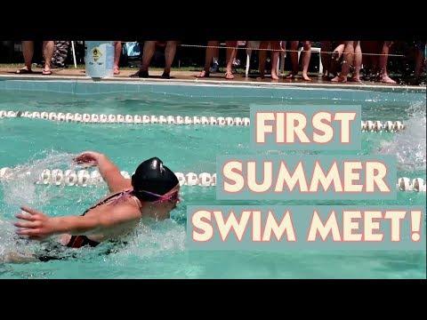 IT'S THE FIRST SUMMER SWIM MEET!