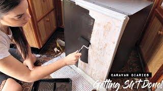 GETTING SH*T DONE - 5 Van Life DIY Projects   CARAVAN DIARIES
