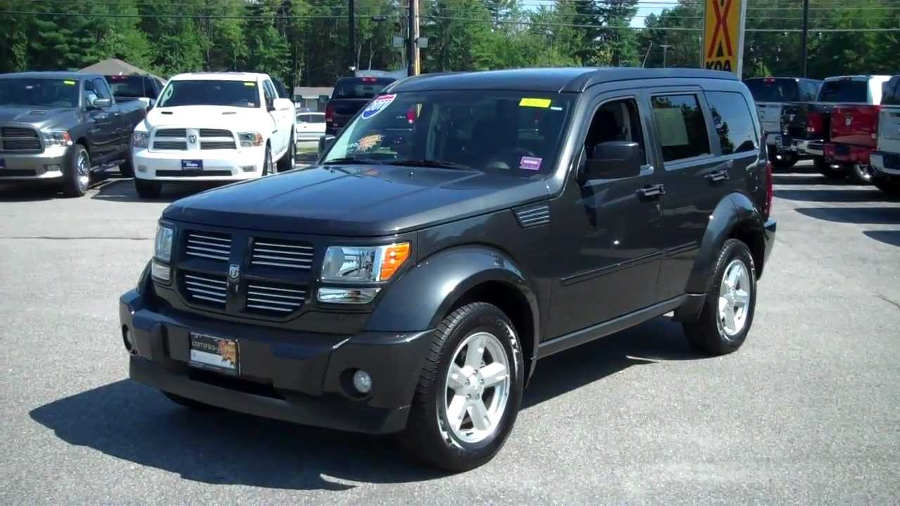 2011 dodge nitro sxt stk 8522 southern maine motors saco maine 04072 youtube