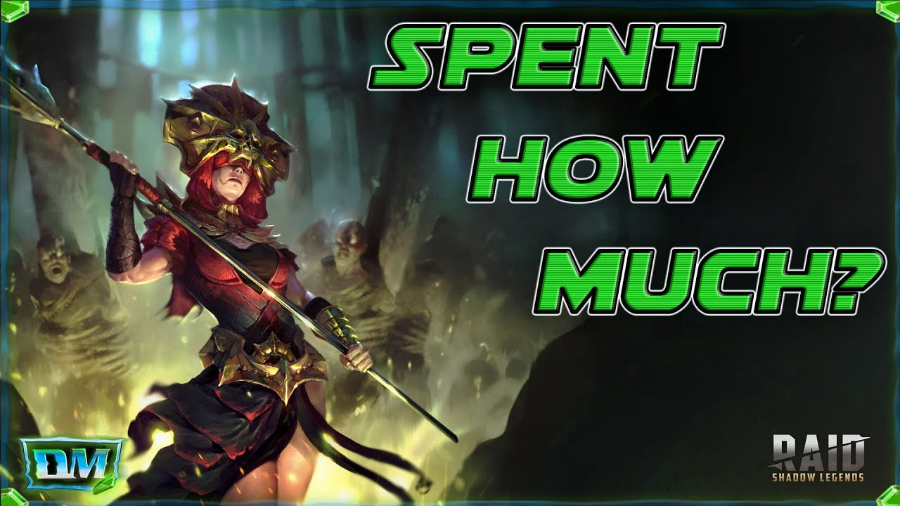 How Much I SPENT On RAID Shadow Legends
