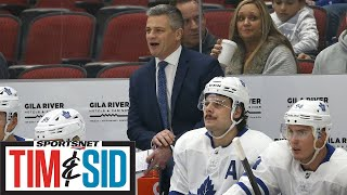 Sheldon Keefe On First NHL Win, The Maple Leafs' Bench Energy, And Lineup Changes   Tim and Sid