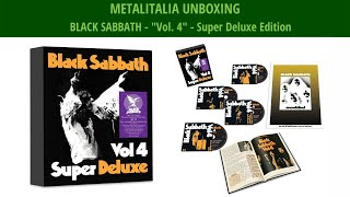 "METALITALIA UNBOXING: la Super Deluxe Edition di ""Vol.4"" dei BLACK SABBATH"