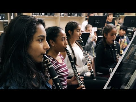 Arts Education: Music at Lawrence Jones Middle School