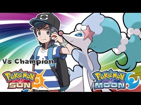 Pokemon Sun & Moon - Champion Title Defense Battle Music (HQ)