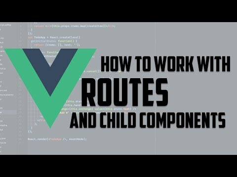 Vue.js - How To Work With Router And Child Components -  Vue Framework In