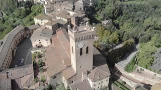 The Tuscan town San Miniato in Tuscany, Italy filmed whilst staying at the amazing apartment Umamma