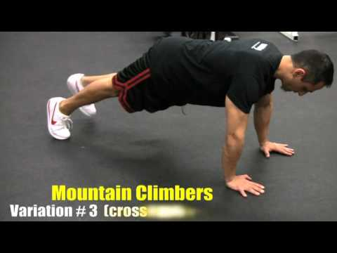 Mountain Climber (5 Variations)