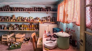 Hundreds Of Jars Of Food Left Behind In Abandoned House | BROS OF DECAY - URBEX