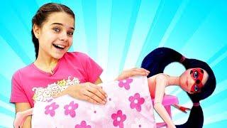 Девочки супергерои в Салоне красоты - Леди Баг и СуперГерл - Играем в куклы