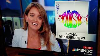 Katy Tur' s Phish reference count!